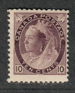 Canada Sc#83 M/H/F, Cv. $425