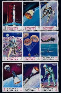 [64517] Fujeira 1969 Space Travel Weltraum  MNH
