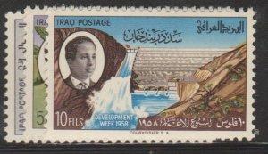 Iraq Sc#168-170 MNH