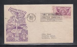 4 First Day Covers Scott #778 TIPEX Singles Washington Stamp Exchange Cachet