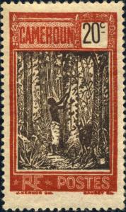CAMEROUN - 1927 - Yv.135/Mi.98 20c rouge & brun - Neuf*