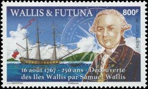 Wallis & Futuna Islands 2017 Sc 789 Samuel Wallis