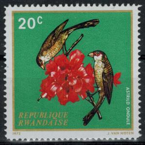 Rwanda - Scott 457 MNH