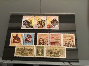 German Democratic Republic 1970's  mint never hinged Stamps R23096
