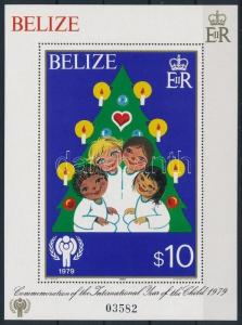 Belize stamp International Children Year (I) - Christmas block 1980 WS220373