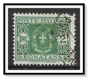 Italy #J37 Postage Due Used