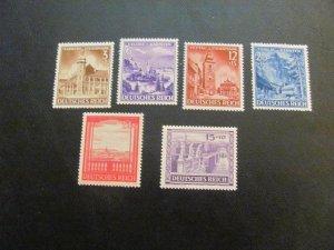 GERMANY 1941 MNH SC# B194-199 2  SETS   (113)