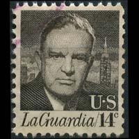 U.S.A. 1972 - Scott# 1397 F.H.LaGuardia 14c Used