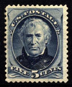 US Scott 179 Zachary Taylor OG Hinged