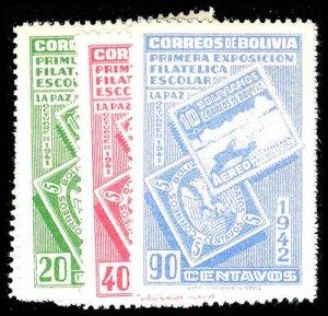 BOLIVIA 274-80  Mint (ID # 77374)