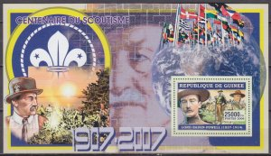 2006 Guinea 4372/B1030 Scouts / Lord Baden Powell 7,00 €