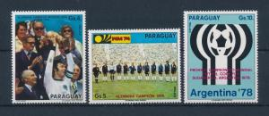 [60809] Paraguay 1974 World Cup Soccer Football Germany Airmail Stamps MNH