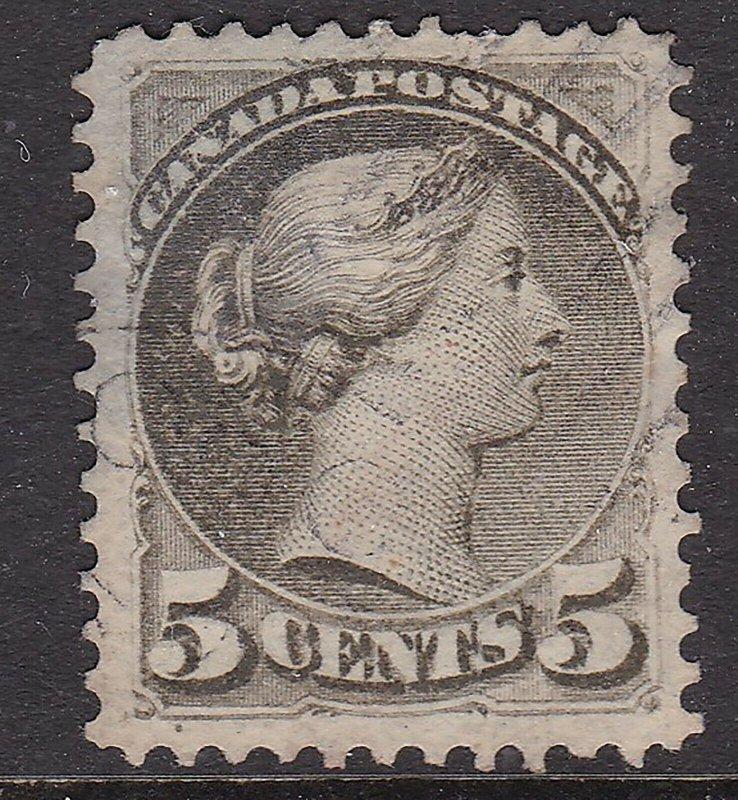 CANADA ^^^^^^1870   UNIT#38 used   Victoria CLASSIC   @xxx dca306ca5.