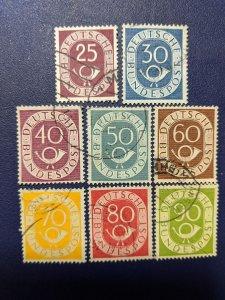 Germany 678-85 VF, CV $29.25