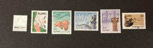 Finland-Aland Islands 1986 Year set MNH, SCV $17.00