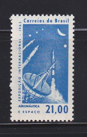 Brazil 953 Set MH Space