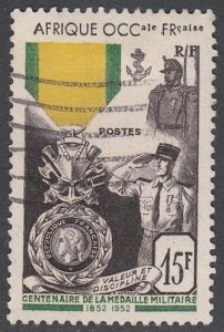 French West Africa 57 Used CV $6.50