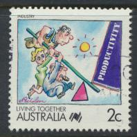 Australia SG 1112  SC# 1054  Used / FU   Industry
