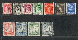Qatar Sc#26-36 M+U/H/VF, Cv. $104