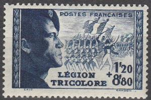 France #B147 F-VF Unused CV $10.00 (SU7056)