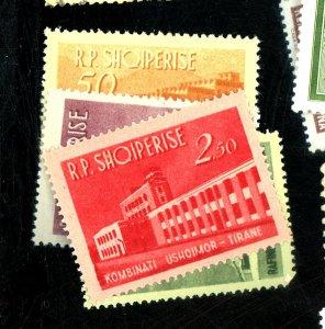 ALBANIA #697-700 MINT VF OG LH  Cat $27