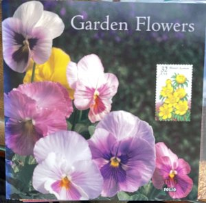 US Stamp Folio 1996 Gardfen Flowers 5 designs #3025-29