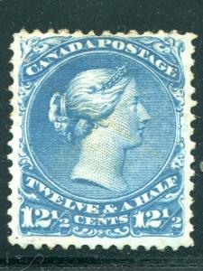 Canada #28 mint  VF- Lakeshore Philatelics