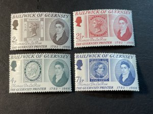 GUERNSEY # 56-59-MINT NEVER/HINGED--COMPLETE SET--1971