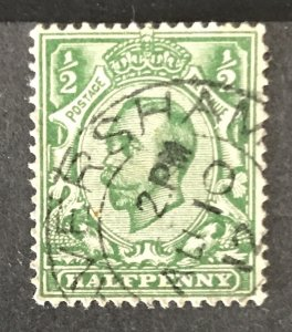 Great Britain 1911 #151, Used, CV$4.50