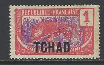 Chad Sc # 1 mint hinged (RS)
