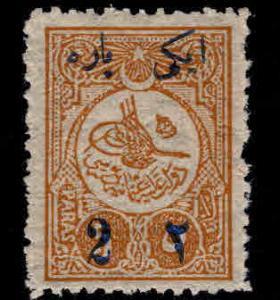 TURKEY Scott p67 MH* newspaper stamp 1910
