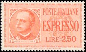 Italy #E14-E15, Complete Set(2), 1932-1933, Never Hinged