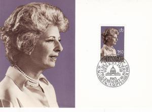 Liechtenstein 1983 Definitives Maxim Card Set Mint in Original Envelope