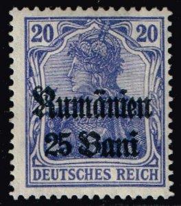 ROMANIA STAMP GERMANY OCCUPATION STAMP MH/OG 25+25