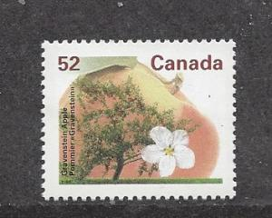 Canada, 1366, Gravenstein Apple / Trees, Single, MNH