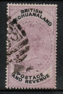 Bechuanaland Protectorate #21 (SG #20) Very Fine Used With Harsh Certificate