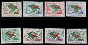 Algeria Scott 296-303 Mint NH (Catalog Value $40.95)