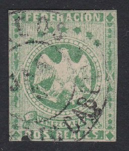VENEZUELA  An old forgery of a classic stamp  ..............................D934