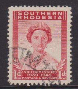 Southern Rhodesia Sc#67 Used