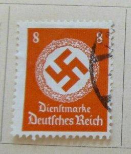 A8P52F22 Deutsches Reich Allemagne Germany 1934 8pf fine used stamp