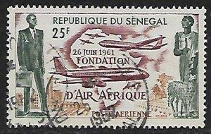 Senegal # C31 - Air Afrique - used.....{KlBl}
