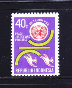 Indonesia 794 Set MNH United Nations