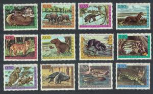 Venezuela Wild Animals 12v COMPLETE SG#1766-1777 SC#826-831+C820-C825