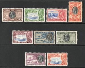 Cayman Islands - SG# 96 - 104 MH (rem)   -   Lot 0419222