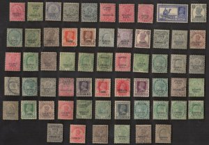 60 CHAMBA (INDIAN STATE)ALL DIFFERENT  Stamps