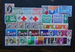 Grenada 1953 1966 Unesco Caribbean Coronation World Cup Red Cross ITU FFH Used