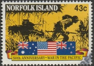 Norfolk Island, #514 Used,  From 1991