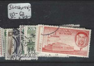 KUWAIT   (PP2804B)  SG 146, 148-9, 1521-163   VFU
