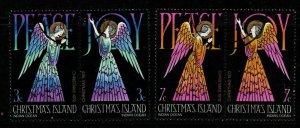 CHRISTMAS ISLAND SG53/6 1972 CHRISTMAS  FINE USED