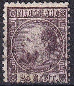 Netherlands #11  F-VF Used CV $110.00 (Z8199)